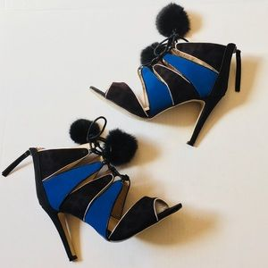 NEW Catherine Malandrino Colorblock Heels,…